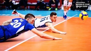 MOST Incredible Pick-Ups | Match Days 3-5 | Men's Volleyball World Cup 2019