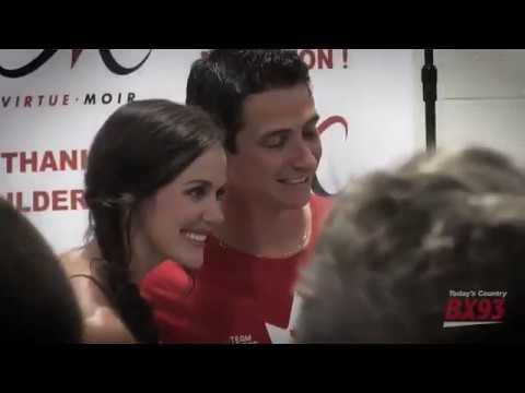 Tessa Virtue and Scott Moir video montage of Thank You Ilderton Event on BX93