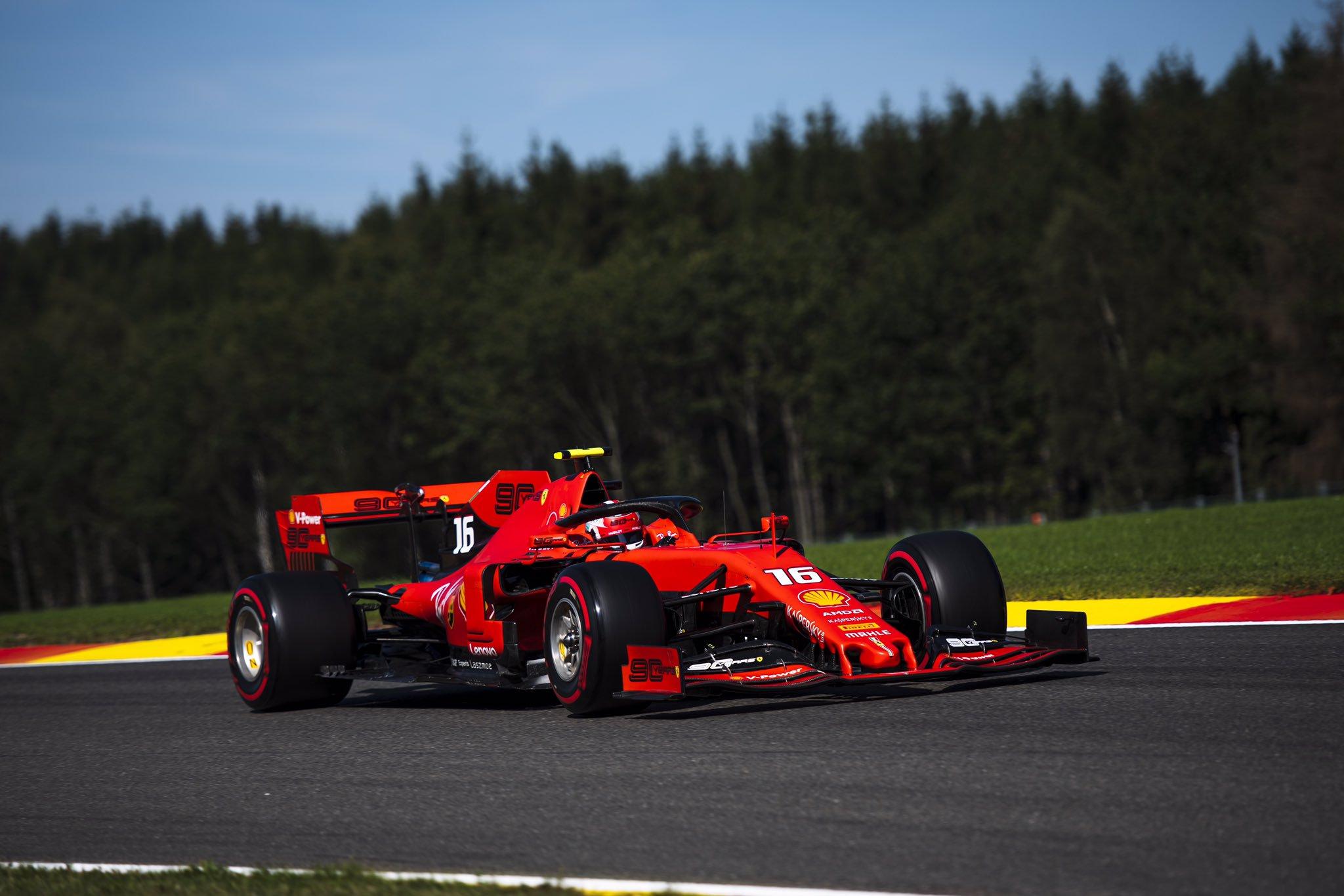 Шарль Леклер в Бельгии одерживает первую победу в Ф1!