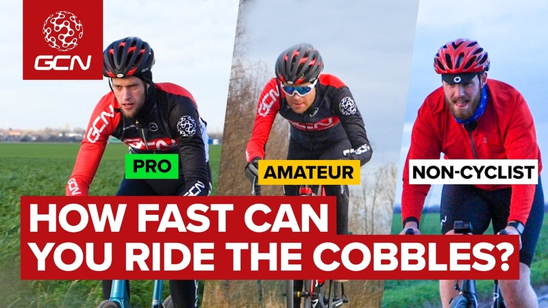 How Hard Is It To Cycle On The Cobbles Of Paris Roubaix Non Cyclist Vs Amateur Vs Pro