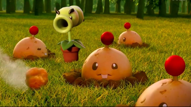 Plants vs Zombies 2 All Bomb Instant Kill Challenge (Primal Potato Mine, Cherry, Bombard Mint) PVZ 2
