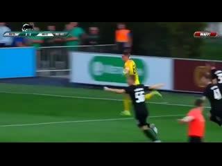 Гол Вратаря на последней минуте матча
