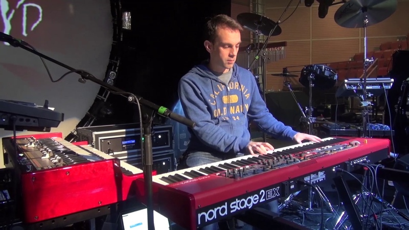 Rob Stringer Brit Floyd on Nord Keyboards