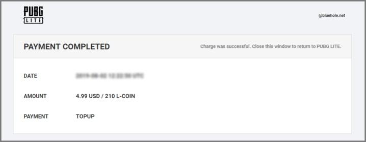 L-COIN (LC) - Руководство по донату в PUBG Lite