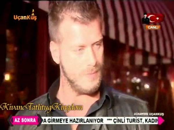Interview with Kıvanç Tatlıtuğ 10 11 2015 مقابلة مع كيفانش اثناء خروجه من 16