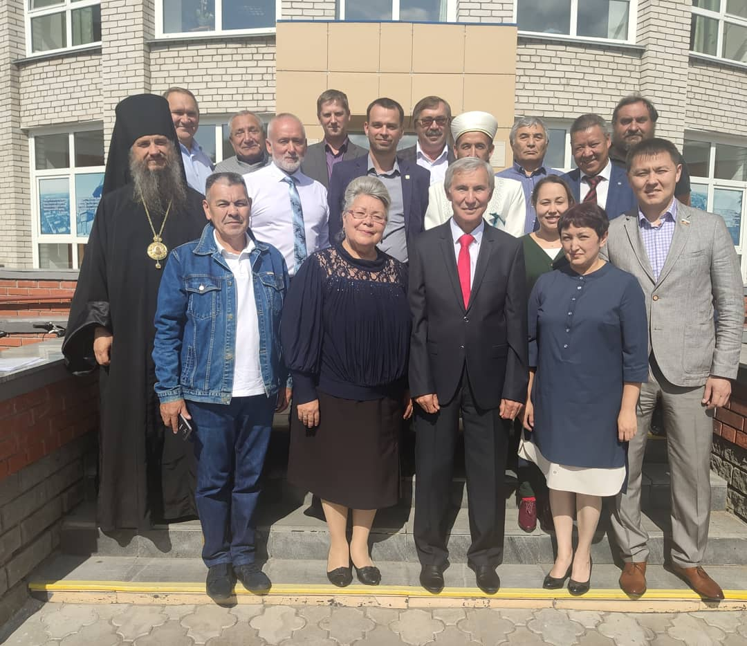 Встреча в Таре. Татары. Дом купцов Айтыкиных