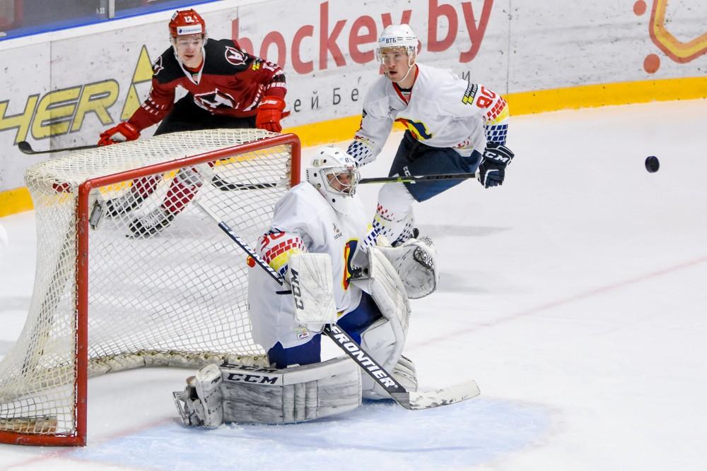 Хоккейный клуб «Лида» провел очередной матч чемпионата страны в экстралиге «А».