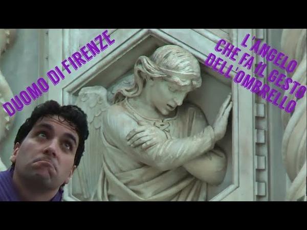 Duomo di Firenze l'angelo che fa il gesto dell'ombrello Arte a modino