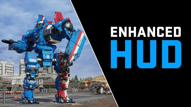 Mechwarrior 5 Mod: Enhanced HUD by Navid A1