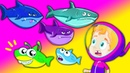 Groovy The Martian - Baby Shark song! Let's sing together happy summer holidays! Nursery Rhymes