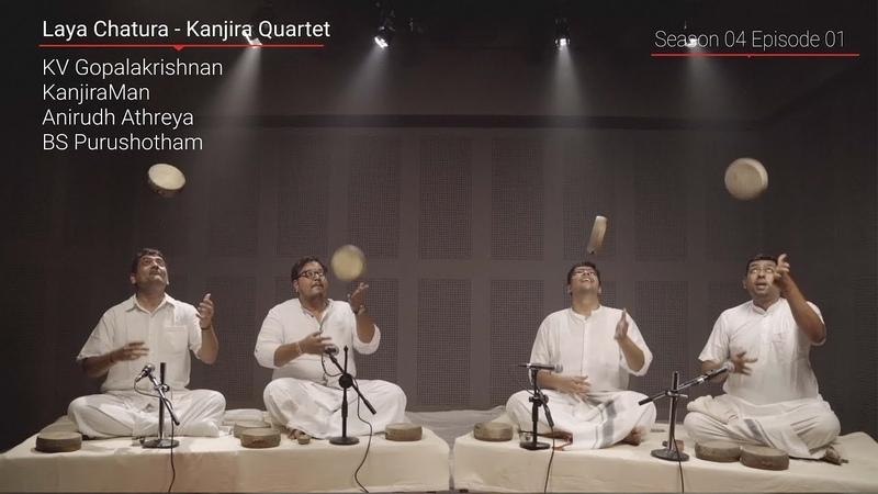 Kanjira Quartet - Indian Percussion - MadRasana Unplugged Season 04 Episode 01