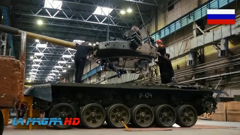 T-72B3M model 2017 - Third-generation main battle tank.