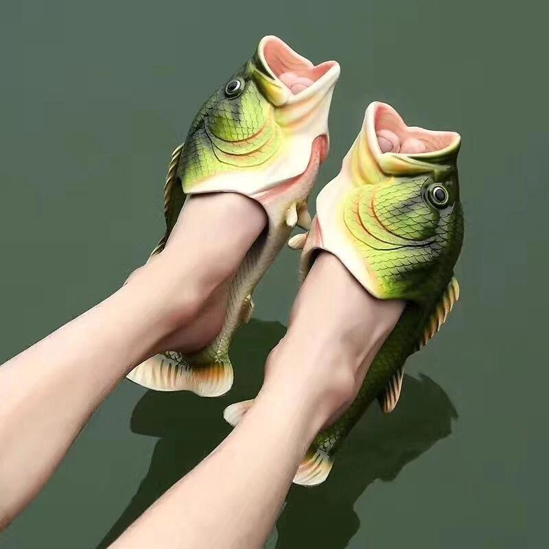 Рыбные тапочки