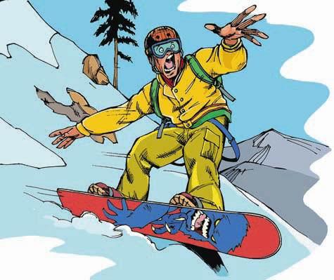 Поздравления с днем рождения сноубордиста картинки