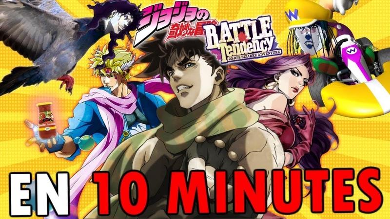 JoJo's Bizarre Adventure (Arc 2) EN 10 MINUTES (ft. Bob Lennon Ganesh 2)   RE: TAKE