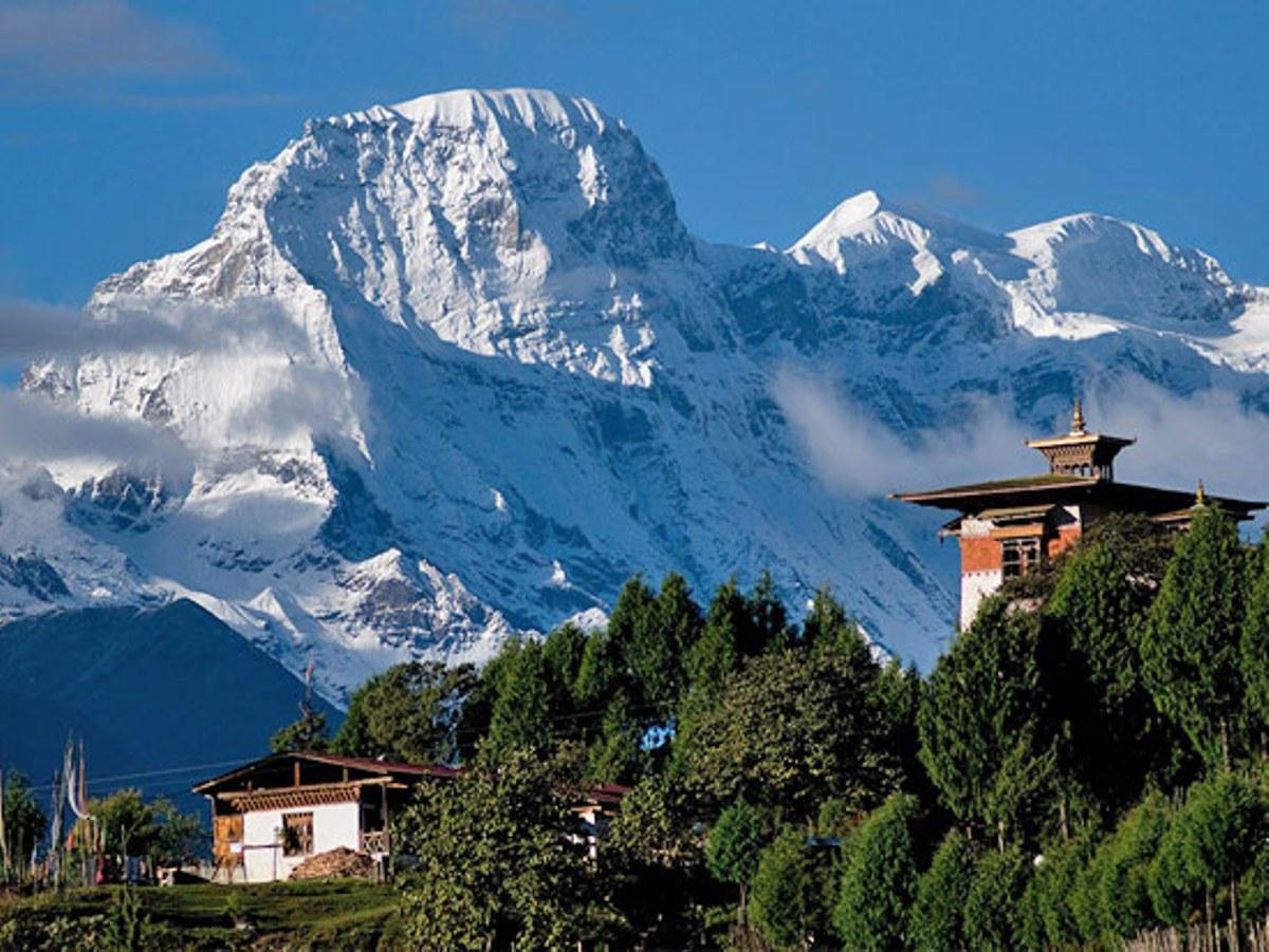 Бутан страна фото