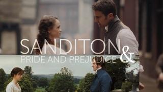 Sanditon    Elizabeth + Mr. Darcy & Charlotte + Sidney by Jane Austen    parallel