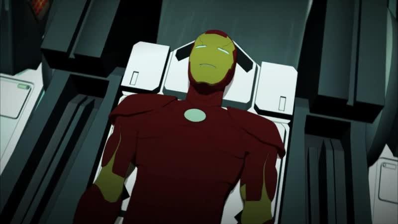 Железный Человек Приключения в Броне 1 Сезон 14 Серия Человек и Железный Человек