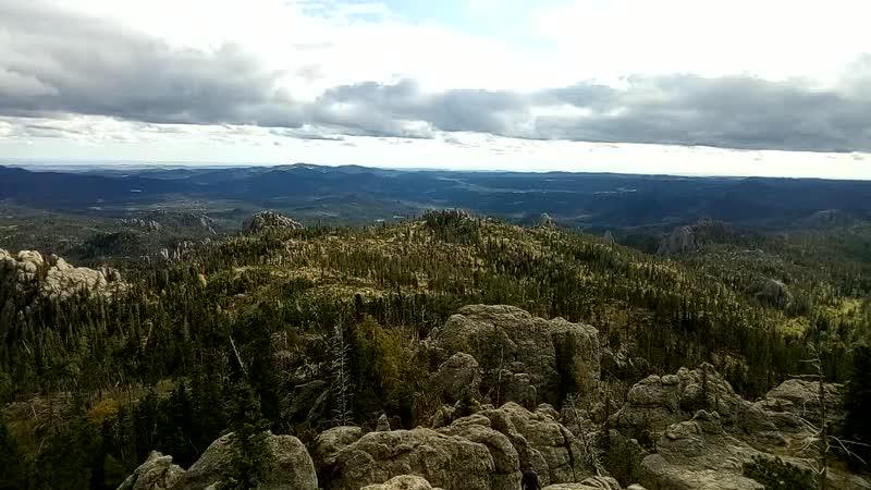 Черные холмы (Black Hills) в Custer State Park, США