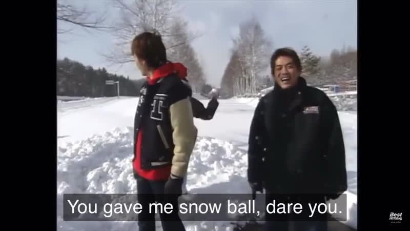 DORI KIN показал КАК НАДО играть в снежки без кринжа