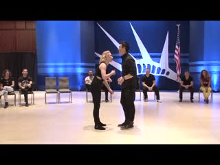 Liberty Swing 2018 Champion Strictly Swing Finals Jordan Frisbee & Victoria Henk
