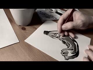 Процесс создания эскиза от Сергея Малого