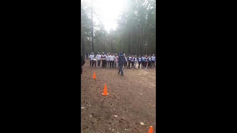 легкоатлетической кросс, в рамках Городской спортивной студенческой лиги