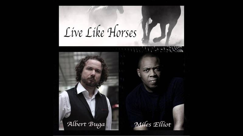 Miles Elliot Albert Buga Live Like Horses Cover