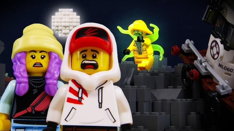 LEGO Hidden Side STOP MOTION LEGO Haunted Shrimp Boat | LEGO Halloween | Billy Bricks