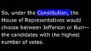 American History - Part 030 - Jefferson Presidency - 1800 Election
