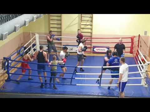 Тренировка в клубе Ринг под руководством МС Евгения Кобзева. 2019