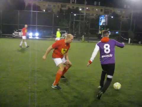 2 тайм. Турнир по мини-футболу ВКВ. 1/2 финала. Единство - УютСтрой