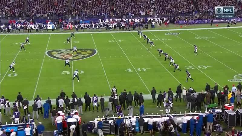 Divisional Titans Ravens Condensed Games NFL 2019 20