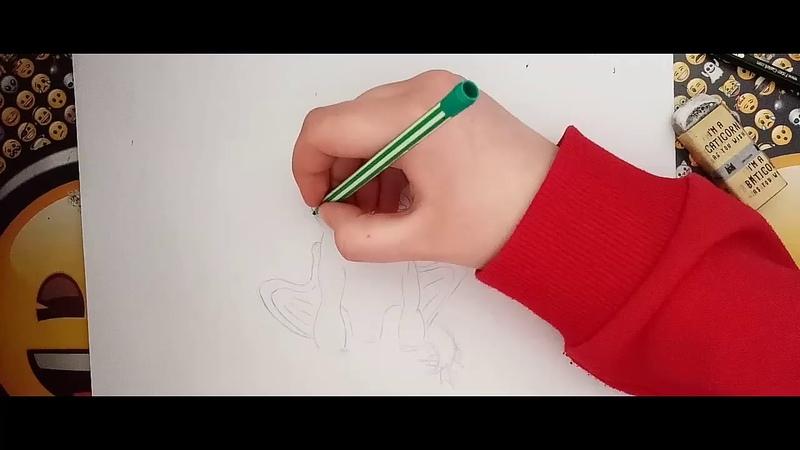 Httyd 3 Drawing/Nightlight/baby dragon