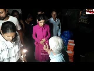 Spine chilling ghost Walk with Sanaya Irani _ Vikram Bhatt