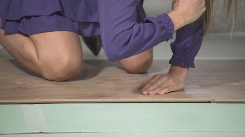 Укладка ламината своими руками Напольное покрытие мастер класс виниловый ламинат