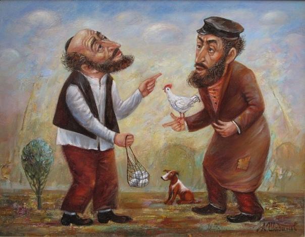 Художник Александр Шабанов пишет замечательные картины в стиле постмодерн Предлагаем взглянуть на несколько работ