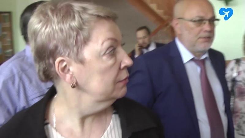 Министр просвещения РФ Ольга Васильева побывала в школе №1 (17.05.2019)