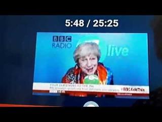 Theresa May Reptilian Shapeshifter?? Possessed??