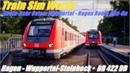 Train Sim World Rhein Ruhr Osten Wuppertal Hagen Route Add on Hagen Wuppertal BR 422 DB