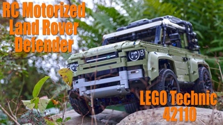 RC Motorized Land Rover Defender LEGO Technic 42110