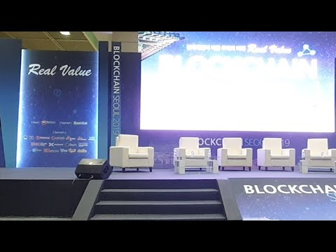 블록체인 협회 오갑수 회장 Congratulatory Speech Blockchainseoul 2019