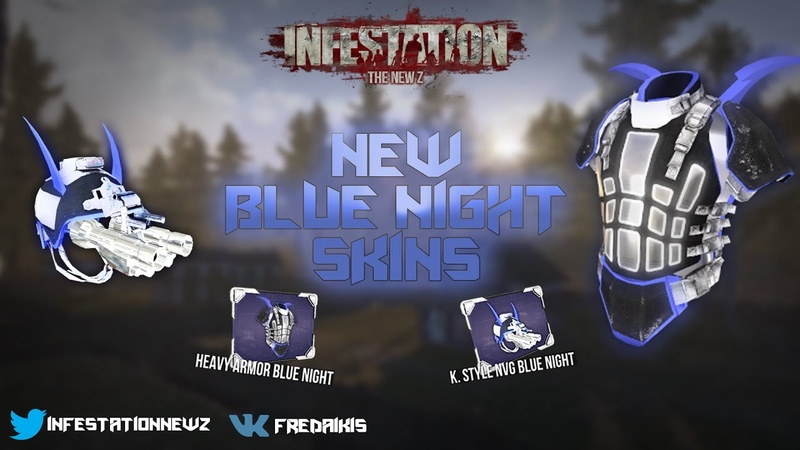 Infestation: The New Z - New Battle Pass and new Blue Night skins