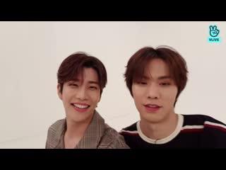 [v live] [weekly idol] surprise live with mj, aki & kim kuk-heon, song yu-bin