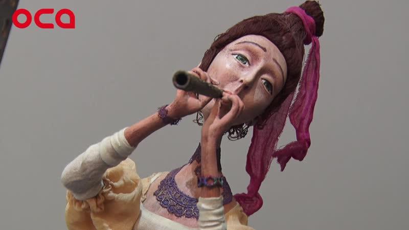 НЕ ДЛЯ ИГР: в Ачинске открылась авторская выставка кукол