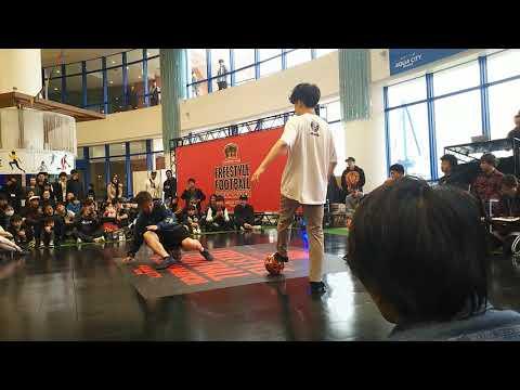 フリースタイルフットボールドリームマッチ Ko-suke VS Hiro-K