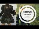 2B | Nier Automata Cosplay Tutorial 2/3 | Cosiendo la manga