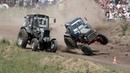 Гонки на Тракторах Лучшие моменты