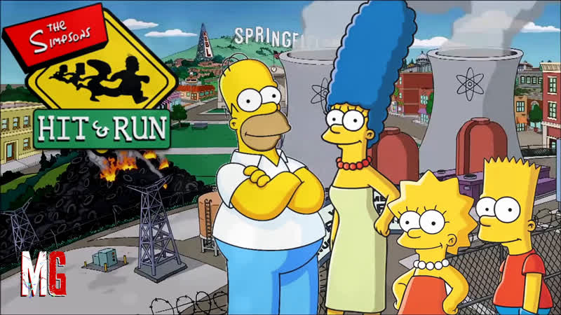 4 The Simpsons Hit Run ➤ Мардж Прохождение четвертого уровня