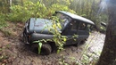 Off road покатушка Нивы Уазы Delica Toyota и L200 в Зуевом лесу Часть 1